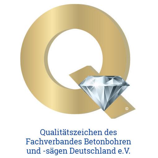 Qualitätszeichen des Fachverbandes Betonboren und -sägen Deutschland e.V.